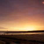 beauty, estuary, landscape, river, sunset, Tooradin, victoria, stopover, campervan, travelling, australia