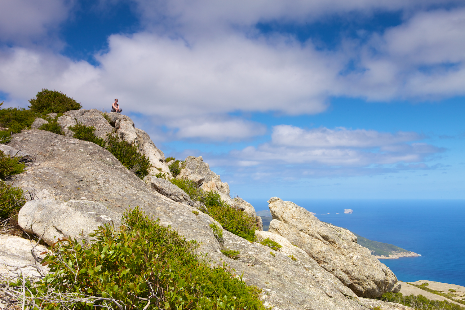Wilsons Promontory Walk Up Mt Oberon Thomas Jupe
