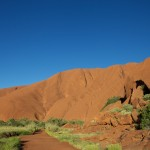 Ayres Rock - Uluru - Red Rock at the heart of the outback